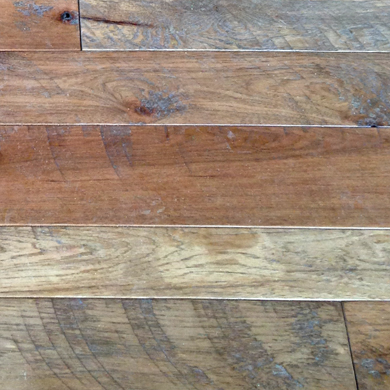 Hit & Miss Hickory Circle Sawn Hickory Flooring