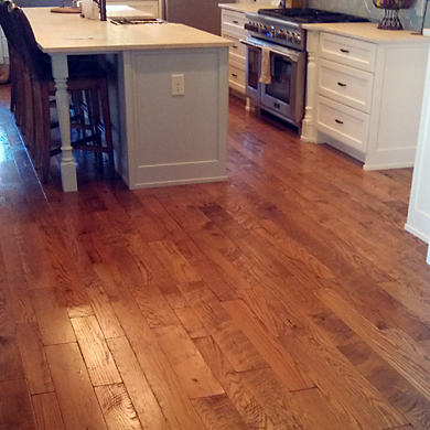 Hit & Miss Circle Sawn Oak Flooring