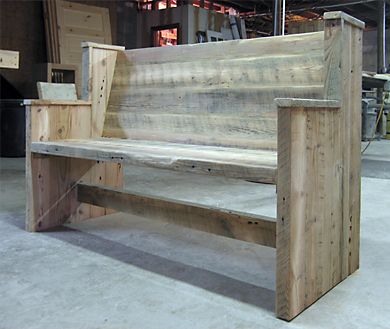 Custom Made Furniture Rough Cut Barn Lumber